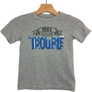 Wonderkids Graphic Tee T Shirt Here Comes Trouble